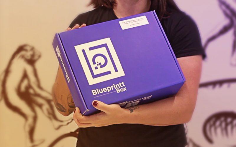 Recebidos da Vindi: Blueprintt Box